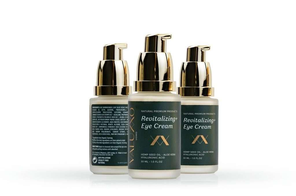 Crema per gli occhi naturale maschile Essentials Skincare Valuxxo