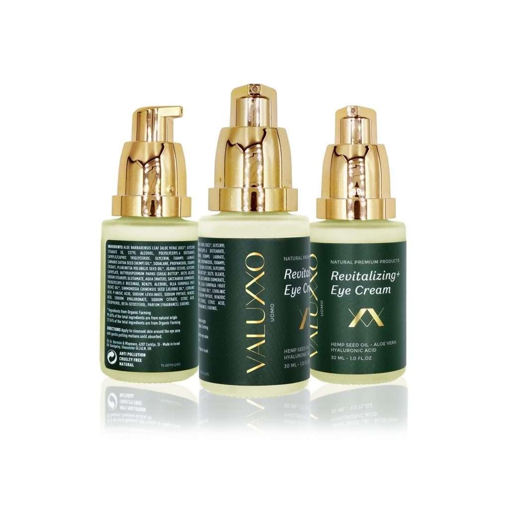 Valuxxo Men's Eye Cream Natural